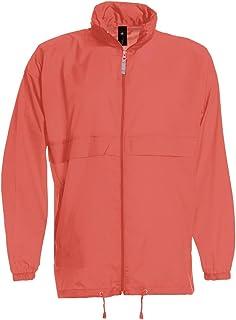 3ad27d7d158 Unisex Plain Rain Coat Mac Kagoul Jacket Water Proof Hooded Cagoul Adults  Pac UK