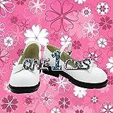 【サイズ選択可】コスプレ靴 ブーツ 12L1351 ダンガンロンパ 希望の学園と絶望の高校生 不二咲千尋 ふじさき ちひろ 女性22CM