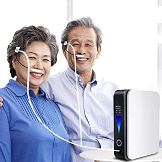 Mini Portable Oxygen Concentrator 93% High Purity Air Purification Machine Home Travel Car Use