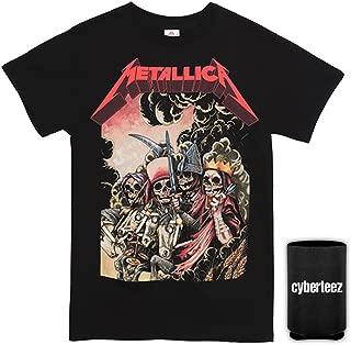 Metallica Four Horsemen Men's Black T-Shirt + Coolie (Sizes S-3XL)