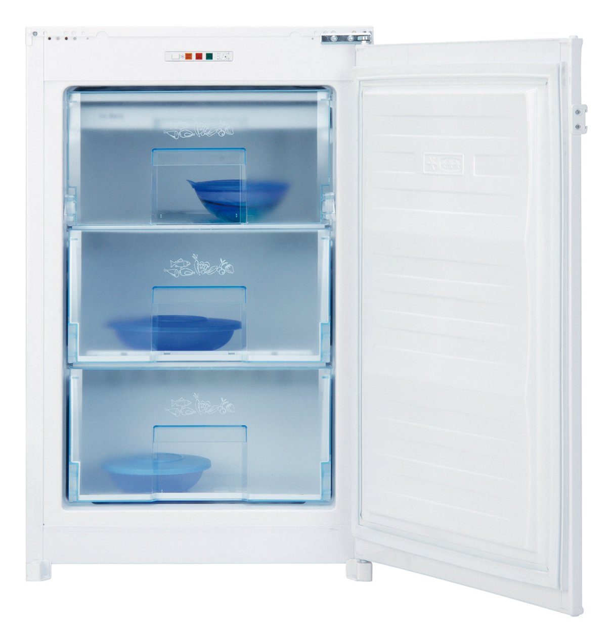 Beko B 1901 - Congelador (Vertical, Incorporado, Color blanco, 85L, 102L, 10 kg/24h): Amazon.es: Hogar