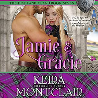 Jamie and Gracie audiobook cover art