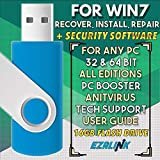 Ezalink USB for Windows 7 SP1 Repair Install Recovery Restore Boot Fix Flash Drive | 32