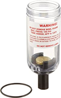 Milton 1152 Polycarbonate Mini Filter and Lubricator Replacement Bowl