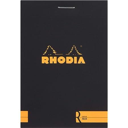 ロディア ブロックR No.11 横罫 ブラック 2冊セット cf112012