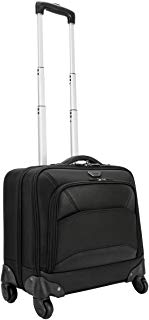 Targus Mobile-VIP 4-Wheeled Business and Overnight Rolling Case for 15.6-Inch Laptop, Black (TBR022)