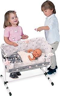 Decuevas Toys - Cuna regulable, almohada de nube incluida,
