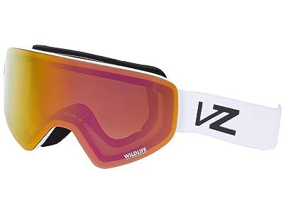 VonZipper Encore (White Satin/Wildlife Pink Chrome) Goggles