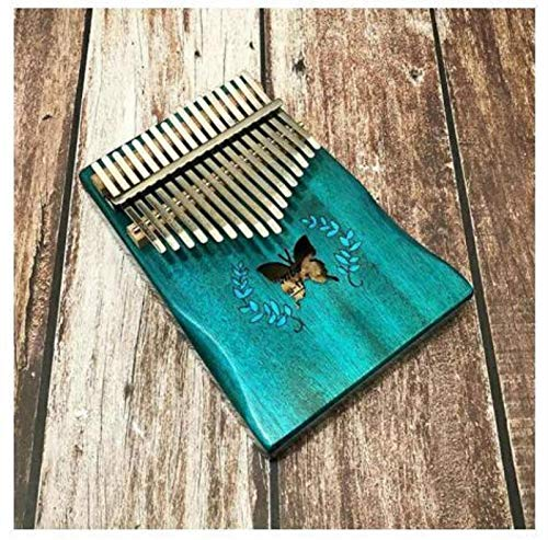 SYXMSM Kalimba Klavier Anfänger Kalimba17 Schlüssel Daumenklavier Mahagoni Teclado Musikinstrument 17 Schlüssel Kalimba Midi-Tastatur Klavier-Tastatur (Color : Dream)