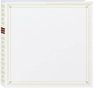 Pioneer MP-300/W Photo Albums 300-Pocket Post Bound Leatherette Cover Photo Album for 3.5 by 5.25-Inch Prints, White