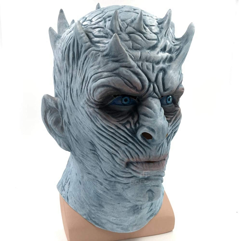 WWVAVA Maske Game of Thrones Halloween MaskeZombie Latex Maske Erwachsene Cosplay Thron Kostüm Party Maske, 1