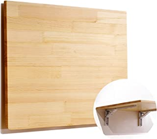 HPPOPE Bureau Mural De Table Murale, Bureau D'Ordinateur pour Petite Table Flottante Murale Pliante, Bureau De Cuisine, po...