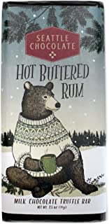 Seattle Chocolates, Bar Hot Buttered Rum, 2.5 Ounce
