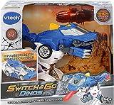 VTECH- Switch & GO Dinos-OXOR Voiture/Dinosaure, 80-195005, Multicolore - Version FR