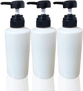 【詰め替え用がピッタリ入る】 SIMPLATH シャンプーボトル ディスペンサー 詰め替え ポンプ ボトル 400ml 3本セット