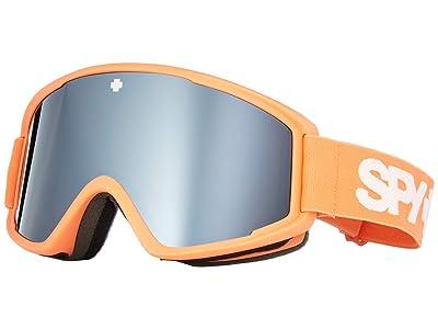 Spy Optic Crusher Elite (Elite Matte Coral/Bronze/Silver Spectra Mirror) Goggles