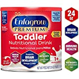 Enfagrow Premium Omega 3 DHA Prebiotics Non-GMO (Formerly Toddler Next Step) Toddler Nutritional Milk Drink, Natural Milk Flavor Powder 24 oz. can From the Makers of Enfamil