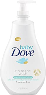 Baby Dove Tip to Toe Baby Wash Sensitive Moisture 20 Fl Oz (Pack of 1)