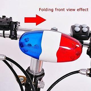 90ecd73dc Ndier Campana Eléctrica para Bicicleta, Luces a Batería Campana de Cuerno  Sirena de la Policía