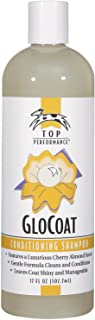 Top Performance GloCoat Conditioning Dog Shampoo 17 Oz. Bottle – Works to Eliminate Tough Tangles for Easy Combing Out