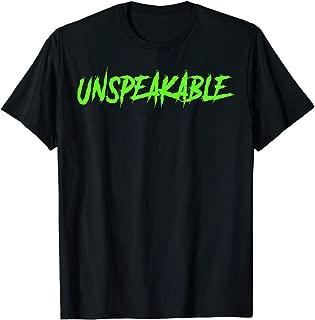 Unspeakable shirt for men & women1