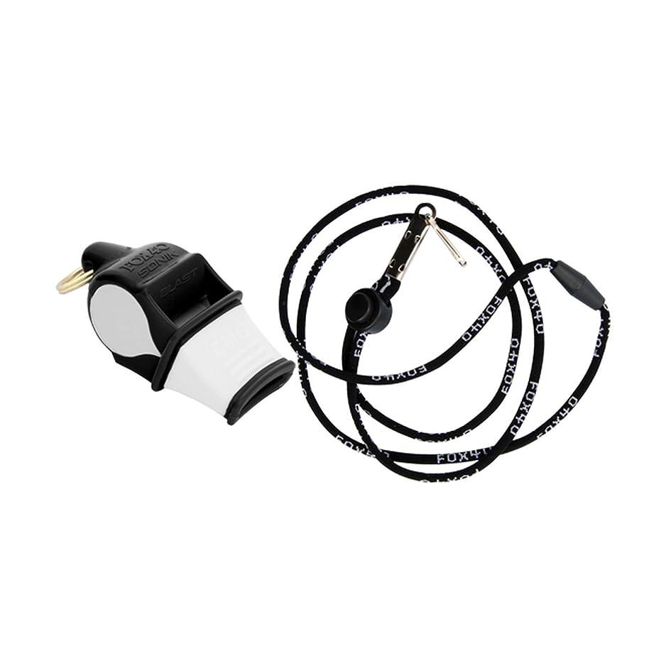 FOX 40 Sonik Blast CMG Whistle Referee Coach Outdoor Sports Dog Black 2-Pack