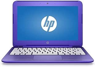 HP Stream 14in HD WLED-Backlit Flagship Laptop, Intel Celeron N3060 Up to 2.48GHz, 4GB RAM, 32GB SSD, WiFi, Bluetooth, Webcam, USB 3.0, HDMI, Windows 10 Home in S Mode, Purple (Renewed)