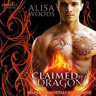 Claimed by a Dragon cover art
