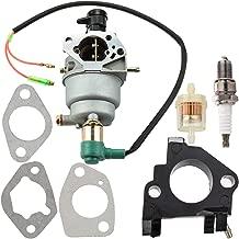 Leopop EM5000SX Carburetor for Honda EB6500SX EB6500X EB7000I EG5000CL EU6500i EM6500SX EM6500GP EM7000IS Generator Carb Tune Up Kit