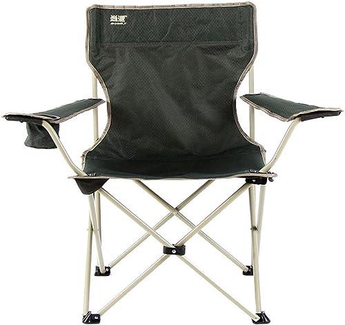 Yamyannie Camping Portable Chaises Chaise de Camping Pliante extérieure Portable Chaise de Loisirs multifonctionnelle.