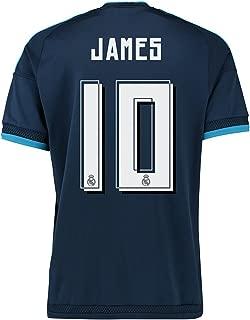 Adidas James #10 Real Madrid 3rd (third) Soccer Jersey 2016 (XL)