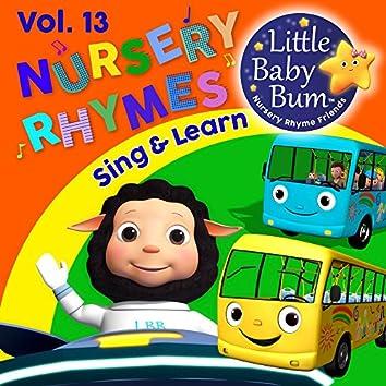 Nursery Rhymes & Children's Songs Vol. 13 (Sing & Learn with LittleBabyBum)