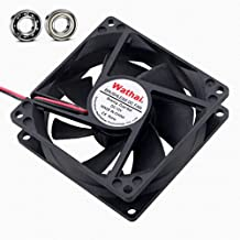 Wathai 80x80x25mm 80mm Ball Bearing 12V 0.35A 4500RPM DC Brushless Case Cooling Fan