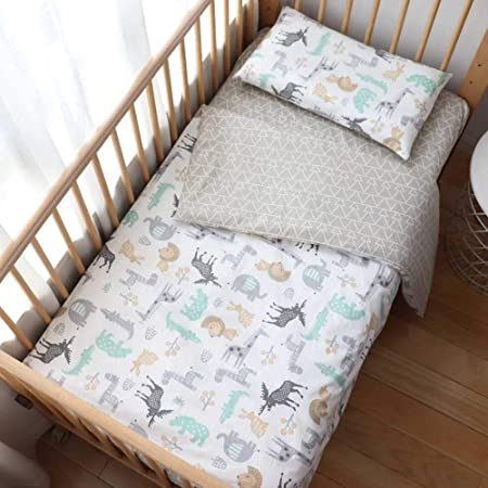 100/% Cotton Fitted Sheet Many Colours for Baby Crib COT COTBED Junior Bed 120x60cm, Green