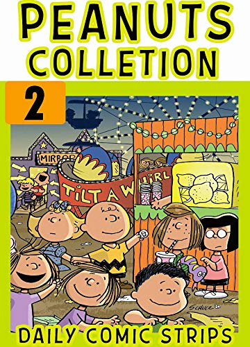 Daily Pea: Collection Book 2 - New 2020 Funny Peanuts Snoopy Comic Strips Cartoon For Kids (English Edition)