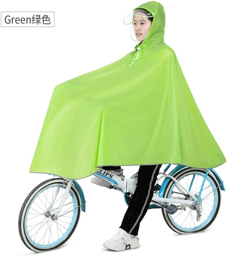 ZWYM Waterproof Bicycle Scooter Raincoat Jacket Travel Hiking Overall Raincoat Outdoor Stylish -E_XXXLAbrigos Impermeables