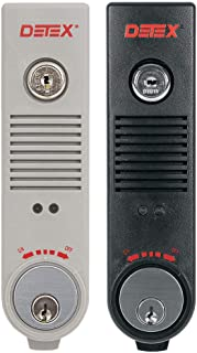 Exit Door Alarm, 9V Battery, Plastic, 100dB