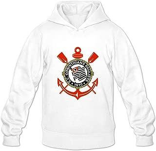 Sport Club Corinthians Paulista Logo Retro Casual Long Sleeve Sweatshirt For Guys Adult