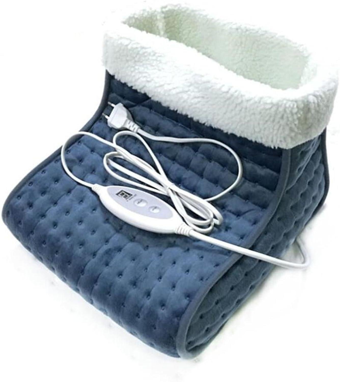 FFJTS Energy Saving Cozy Boots Luxury Heatable Boots, B