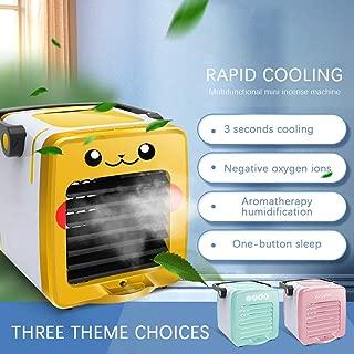 مكيف هواء فضائي، مبرد هواء صغير USB شخصي ومضاد للهواء، ومنقي ومروحة تبريد سطح المكتب مع 3 سرعات للمنزل والمكتب