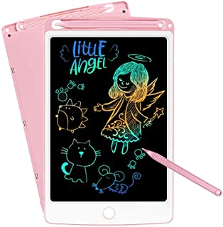NOBES LCD Writing Tablet, 10-Inch Drawing Tablet Kids Tablets Doodle Board, Colorful Drawing Board Gifts for Kids and Adul...