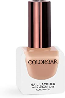 Colorbar Nail Lacquer, Quiet Coral, 12 ml