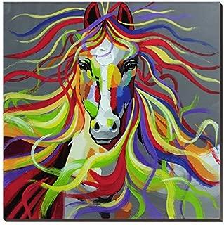 Best colourful horse canvas Reviews