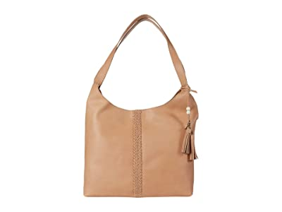 The Sak Huntley Leather Hobo (Natural) Handbags