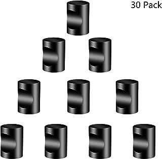 Drawer Knobs Pull Handle (30-Pack) Black Cabinet Dresser Wardrobe Kitchen Knob, Modern, Ergonomic Cylindrical Style, Cabinet Bathroom Cupboard Use Bar Pull (30, Black)