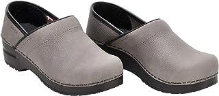 Sanita Professional Oil Closed Clog | Original Handmade Flexible Leather Clog for Men