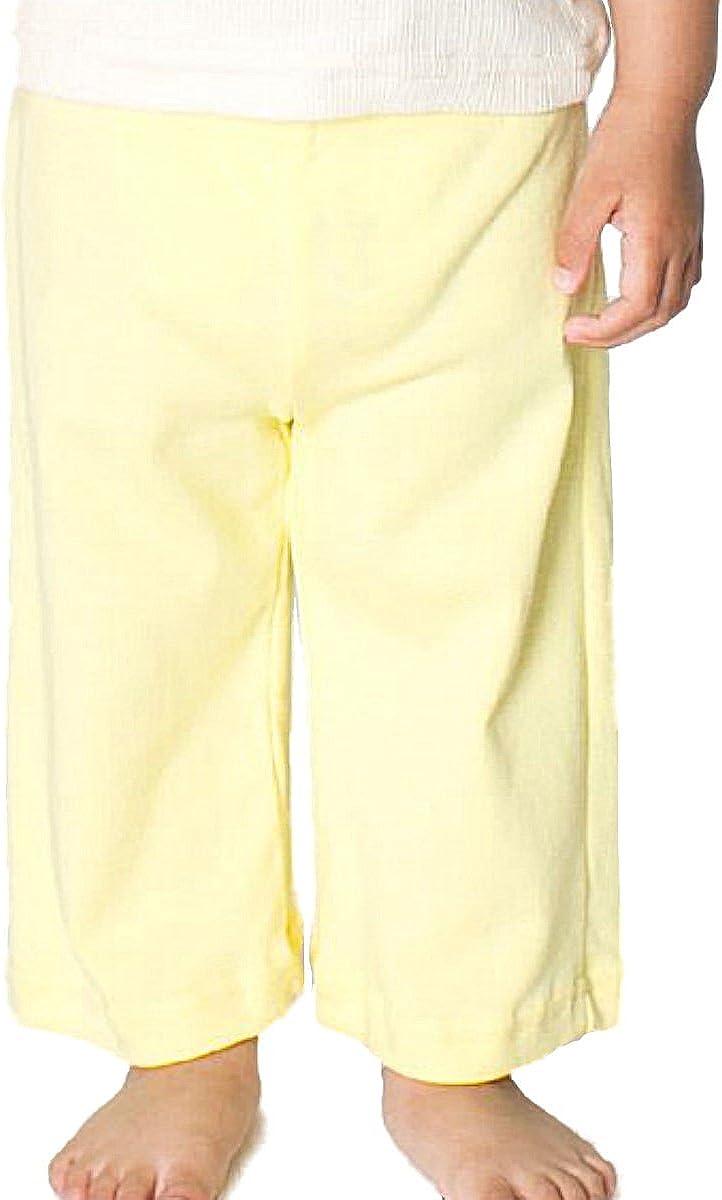 YogaColors Cotton Baby Chic Super Soft Infant Karate Yoga Pants