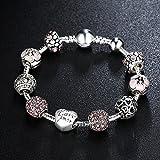 Immagine 2 a te bracciale charms rosa
