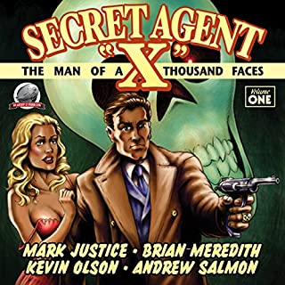 Secret Agent 'X', Volume 1 cover art