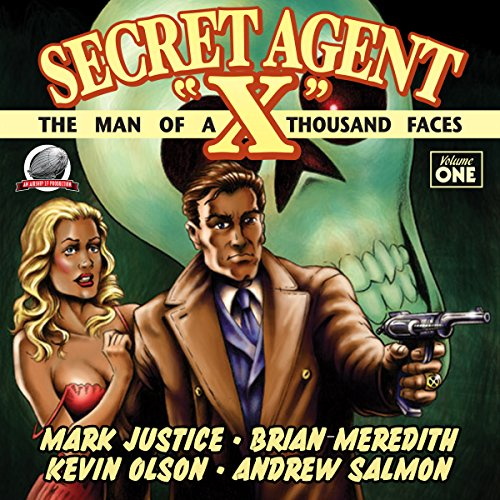 Secret Agent 'X', Volume 1 audiobook cover art